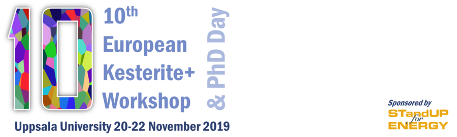 10th European Kesterite+ Workshop and PhD day.